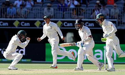 India and Australia battle on to 5th Day in 2nd Test at Perth