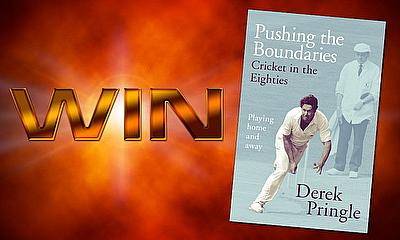 Win one of three signed copies of Pushing the Boundaries by Derek Pringle