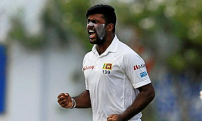 Sri Lankan Lahiru Kumara fined for use of an audible obscenity in 1st Test against New Zealand