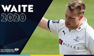 Matthew Waite Signs Extension with Yorkshire CCC