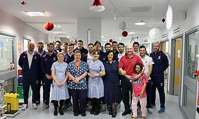 Durham CCC Spread Christmas Cheer at GNCH