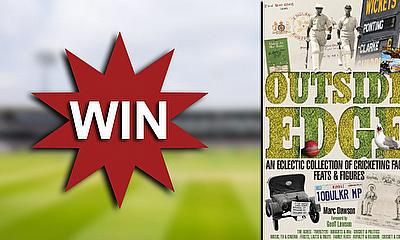Win a copy of 'Outside Edge' by Marc Dawson