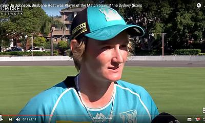 Sammy Jo Johnson, Brisbane Heat was Player of the Match