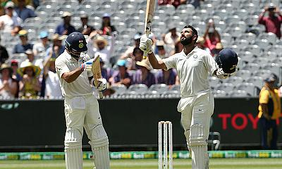 India take the 3rd Test away from Australia on Day 2