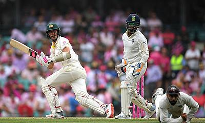 4th Test - Australia battle hard against India on rain affected Day 3 at the SCG