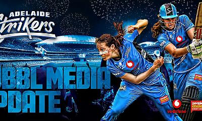 Adelaide Strikers set for Hurricanes at home