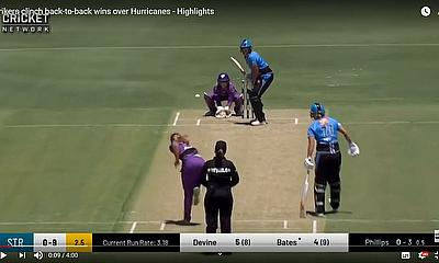 Adelaide Strikers clinch back-to-back wins over Hurricanes  - Highlights WBBL