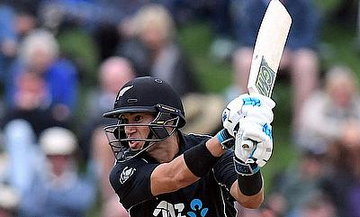 New Zealand beat Sri Lanka by 35 runs in only T20I
