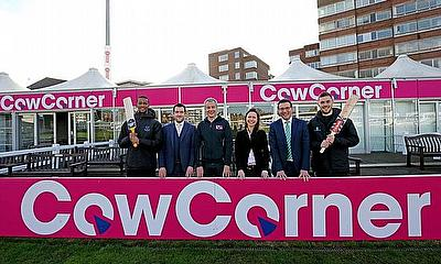 £1000 for Every Six Hit Into Cow Corner as Part of New Sponsorship Deal