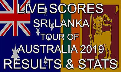 Live Cricket Streaming Scores – Australia v Sri Lanka - Scores, Results and Stats
