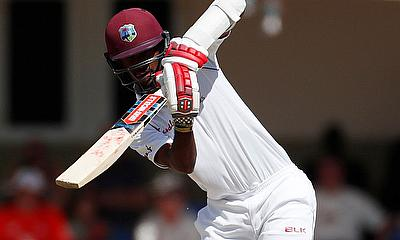 Kraigg Brathwaite in action Action
