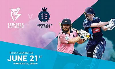 Middlesex announce Dublin date for Lightning clash