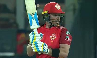 Peshawar Zalmi lose out to Islamabad United by 12 runs in PSL