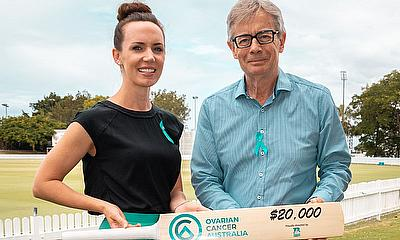 Donation Made to Ovarian Cancer Australia