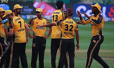 Peshawar Zalmi beat Multan Sultans by 5 wickets in PSL