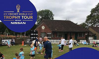 ICC Cricket World Cup Trophy Comes to Bristol This Weekend