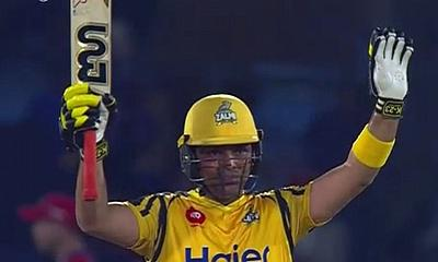 Peshawar Zalmi beat Karachi Kings by 61 runs to go Top of the PSL Table