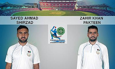 Zahir Khan and Sayed Shirzad Added to Afghanistan Test Squad