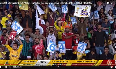 Match Highlights Peshawar Zalmi vs Islamabad United | HBL PSL 2019