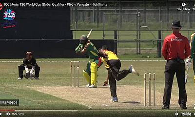 ICC Men's T20 World Cup Global Qualifier -  PNG v Vanuatu – Hightlights
