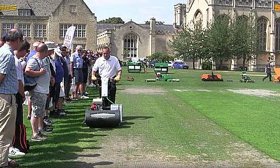 Cricket Pitch Renovation Seminar with SISIS Machinery
