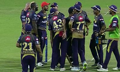 Andre Russell too much for Kings XI Punjab at Eden Gardens today in IPL