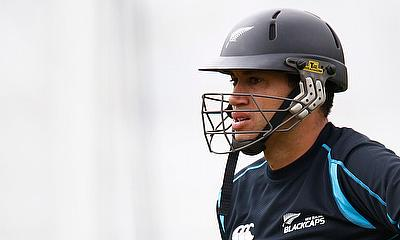 Middlesex Cricket Sign Ross Taylor