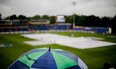 Royal London One Day Cup match between Glamorgan and Kent was abandoned