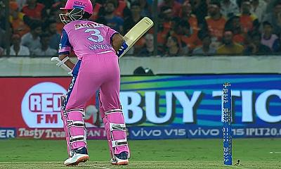 Rajasthan Royals beat Sunrisers Hyderabad by 7 wickets in IPL