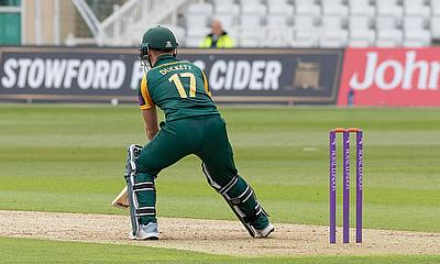 Notts Outlaws beat Yorkshire to secure Quarter Finals place in Royal London Cup