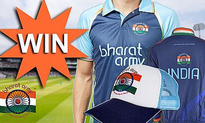 Win Bharat Army Merchandise with CricketWorld.com