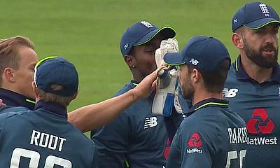England come out on top against Ireland by 4 wickets