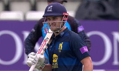 Warwickshire beat Lancashire by 5 wickets (DLS Method) in Royal London cup