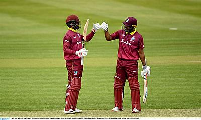West Indian openers break records in win over Ireland