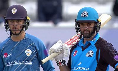 Worcestershire beat Derbyshire in Royal London One Day Cup Run - Fest