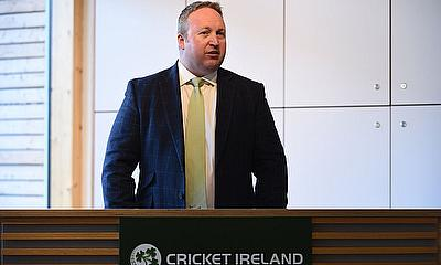 Richard Holdsworth Performance Director for Cricket Ireland