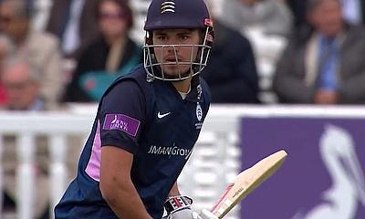 Middlesex reach the Royal London One-Day Cup play offs after 33-run win over Kent