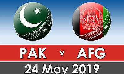 Cricket World Cup Warm Up Match 2019 - Pakistan v Afghanistan