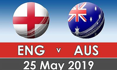 Cricket World Cup Warm Up Match 2019 - England v Australia