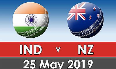 Cricket World Cup Warm Up Match 2019 - India v New Zealand
