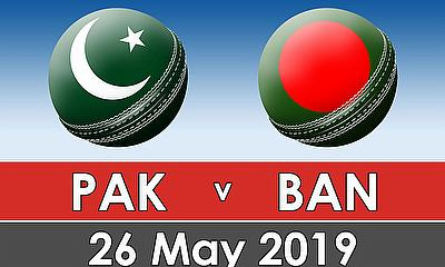 Cricket World Cup Warm Up Match 2019 - Pakistan v Bangladesh
