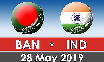 Cricket World Cup Warm Up Match 2019 - Bangladesh v India
