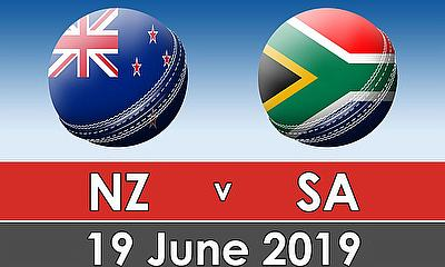 Cricket World Cup 2019 - New Zealand v South Africa  Live Updates