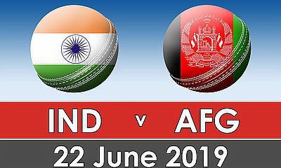 Cricket World Cup 2019 - India v Afghanistan
