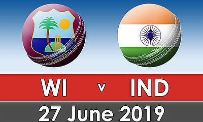 Cricket World Cup 2019 - West Indies v India