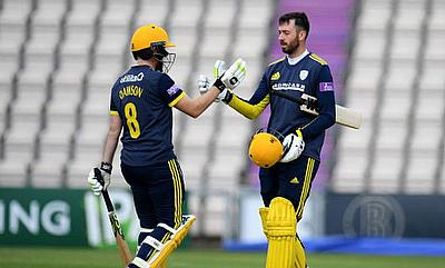 Liam Dawson, James Vince, Royal London One-Day Cup