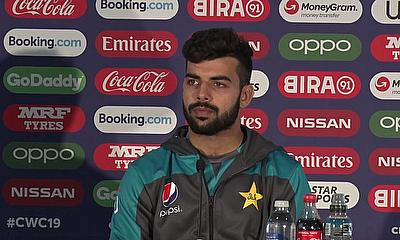 Shadab Khan on Pakistan Preparations