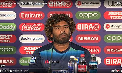 Lasith Malinga speaks ahead of Sri Lanka vs Afghanistan