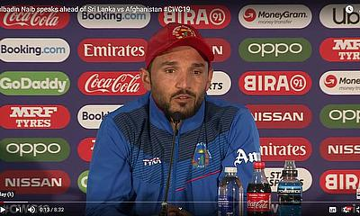 Gulbadin Naib speaks ahead of Sri Lanka vs Afghanistan