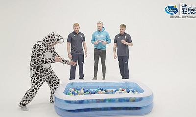 England Cricket Stars Take on Hilarious Cricket-themed Challenges